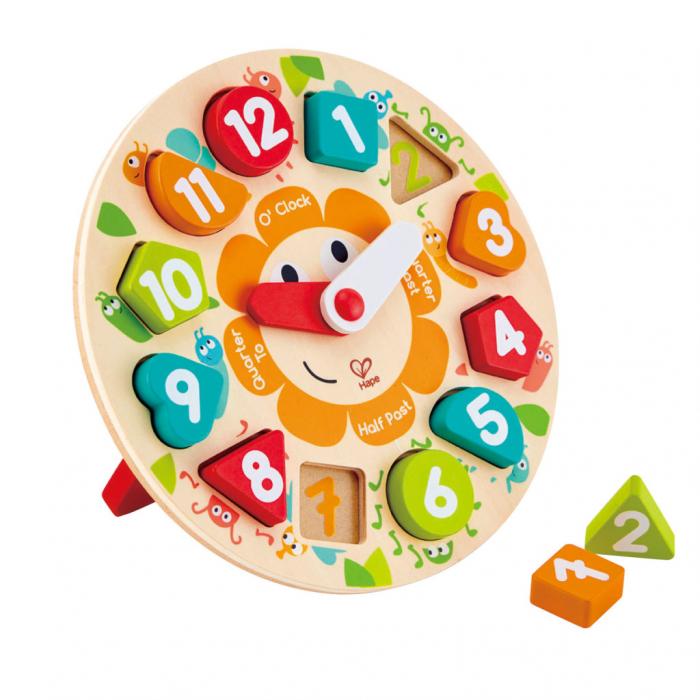 Puzzle si ceas din lemn [0]