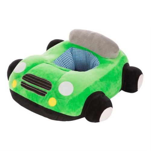 Fotoliu pentru bebelusi masinuta de plus,verde [0]