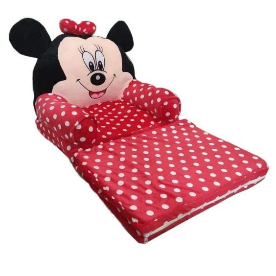 Fotoliu cu intindere pentru copii, Minnie Mouse [2]
