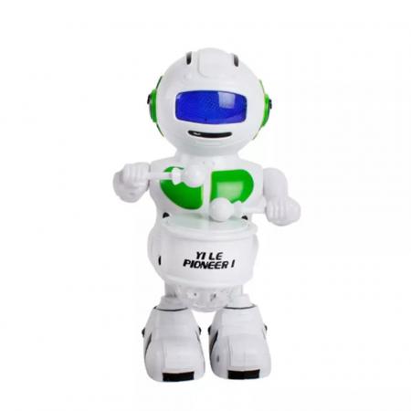Robot dansator cu sunete si lumini, Verde, Toyska [0]