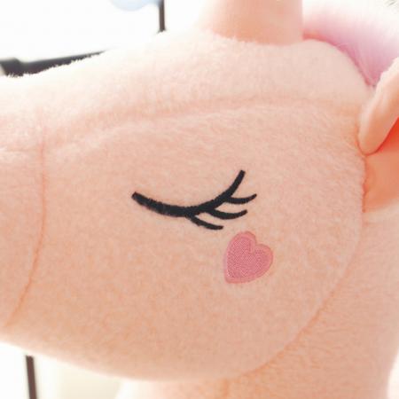 Jucarie de plus Unicorn, 60 cm, Roz, Toyska [1]
