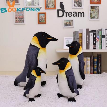 Pinguin Imperial de plus, 30 cm, Toyska [3]