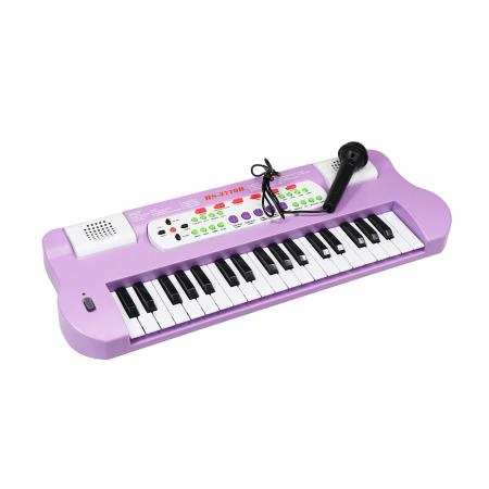 Orga Electronica cu microfon, Functii multiple, 50 cm, Toyska [0]