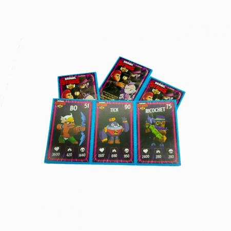 Set 360 cartonase Brawl Stars 120x3 , Sezonul 3, Seria 2020, Toyska [3]