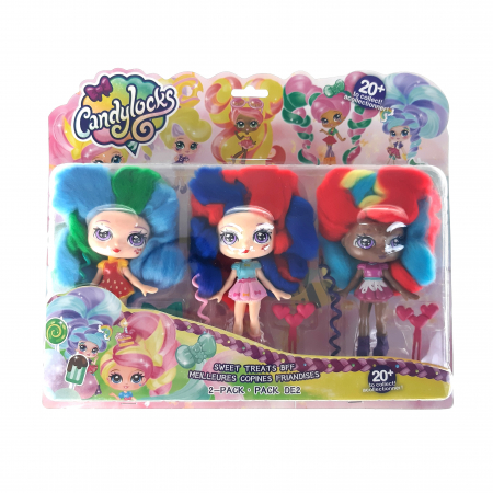 Set papusi, 3 set , tip, Candy Looks, Toyska [0]