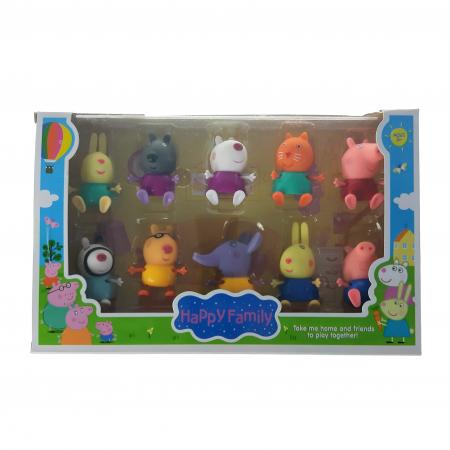 Set figurine Peppa Pig, 10 set, Toyska [0]