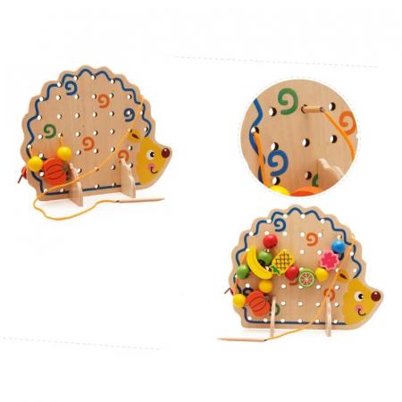 Arici din lemn cu fructe de snuruit, Toyska [2]