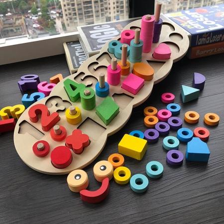 Tablita Educativ Logaritmica 3 in 1, Omida Vesela, Toyska [0]