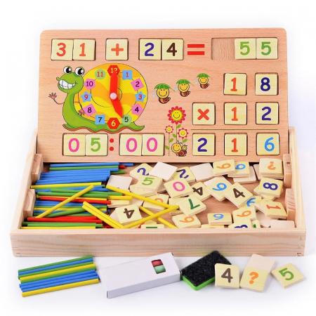 Joc multifunctional Montessori Matematica, Toyska [0]