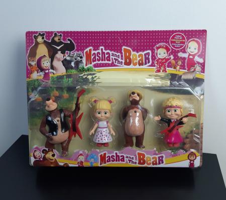 Set de joaca Masha si Ursul, 4 figurine, Toyska [1]