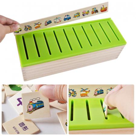 Cutie sortatoare Montessori cu 90 de piese, multicolor [1]