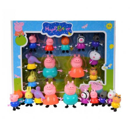 Set 11 figurine Peppa Pig, Toyska [0]
