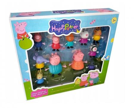 Set 11 figurine Peppa Pig, Toyska [1]