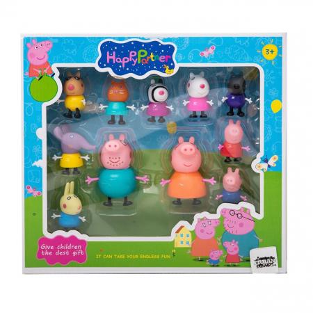 Set 11 figurine Peppa Pig, Toyska [2]