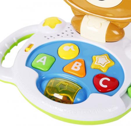 Laptop interactiv, Jucarie bebe Ursulet, Toyska [3]