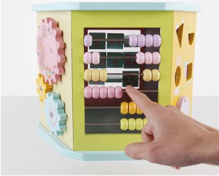 Cub educativ multifunctional 8 in 1 Hexagonal, Toyska [1]