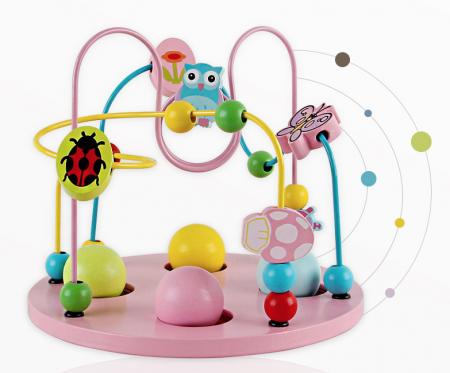 Cub educativ multifunctional 8 in 1 Hexagonal, Toyska [2]