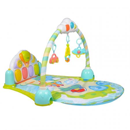Saltea de joaca bebe cu pian Go!Go!, 92x80, Toyska [3]
