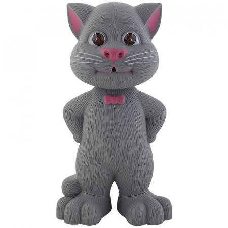 Jucarie Talking Tom, motanul inteligent vorbitor, 22 cm, Toyska [0]