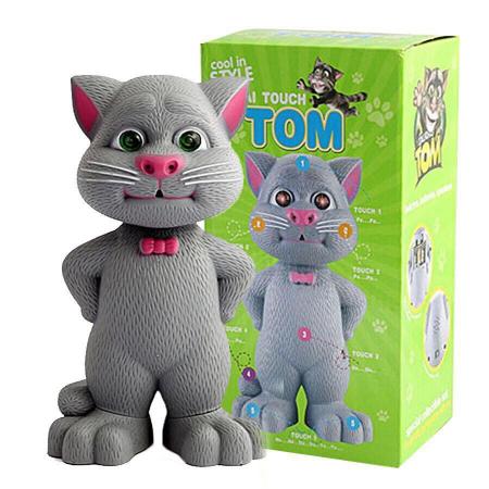 Jucarie Talking Tom, motanul inteligent vorbitor, 22 cm, Toyska [2]