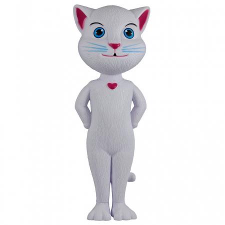 Jucarie Talking Angela, pisica inteligenta vorbitoare, 28 cm, Toyska [1]