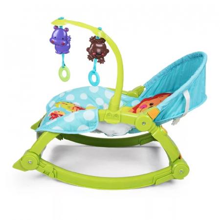 Balansoar portabil 2 in 1 Newborn to Toddler, vibratii, Toyska [2]