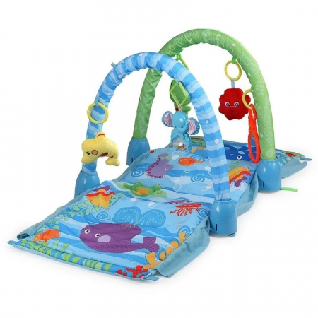 Saltea de joaca 3 in 1 Smart Baby Ocean Paradise, Toyska [0]