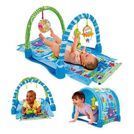 Saltea de joaca 3 in 1 Smart Baby Ocean Paradise, Toyska [1]