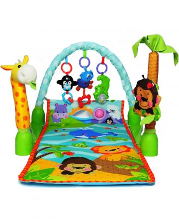 Saltea de joaca 3 in 1 Smart Baby, Muzicala, Toyska [2]