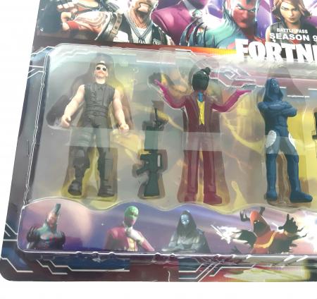 Set 6 figurine tip Fortnite, accesorii, sezonul 9 [3]