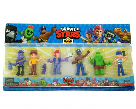 Set 6 figurine Brawl Stars, 50x27 cm [0]