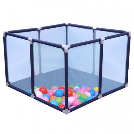 Tarc de joaca pentru bebelusi, 50 bile, 100x100x65 cm [0]