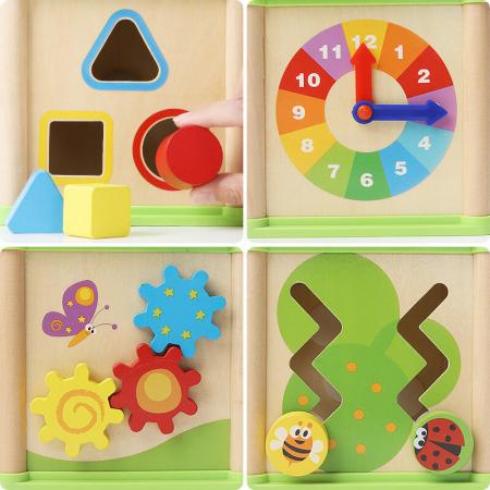 Cub activitati 5 in 1 In Gradina Top Bright, Multicolor [3]
