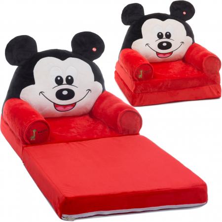Fotoliu extensibil din plus Mickey Mouse, 80x50 cm [1]