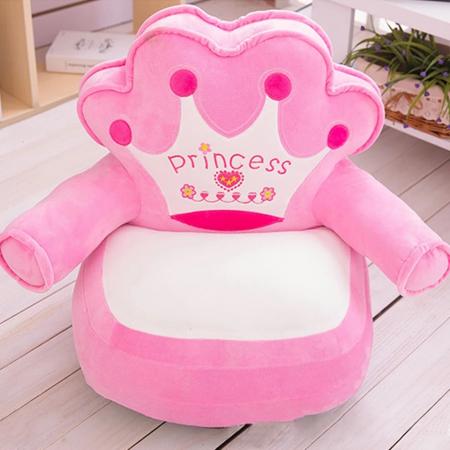 Fotoliu din plus pentru copii, Princess,Roz [0]