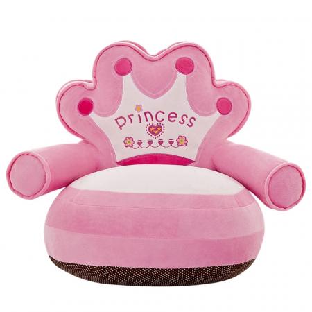 Fotoliu din plus pentru copii, Princess,Roz [3]