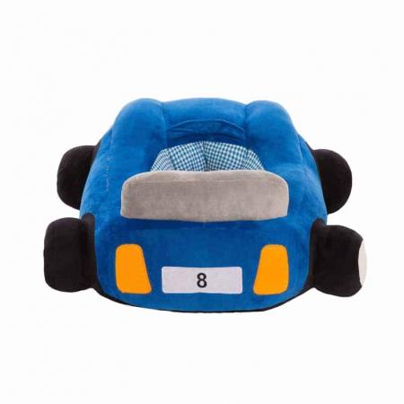 Fotoliu din plus bebe Masinuta, albastru [1]