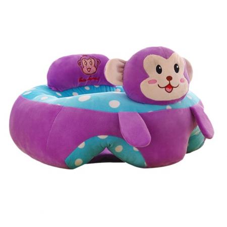 Fotoliu din plus pentru bebelusi Maimutica, mov [2]