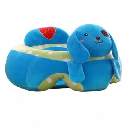 Fotoliu din plus pentru bebelusi Catel, albastru [4]
