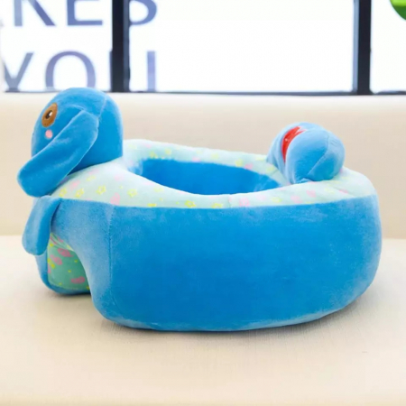 Fotoliu din plus pentru bebelusi Catel, albastru [1]