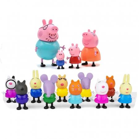 Set 14 figurine Peppa Pig, multicolor [1]