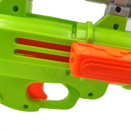 Pusca  Soft Bullet Gun cu gloante din spuma, multicolor [3]