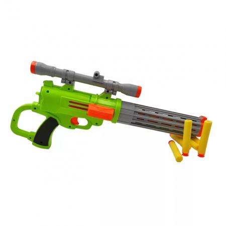 Pusca  Soft Bullet Gun cu gloante din spuma, multicolor [1]