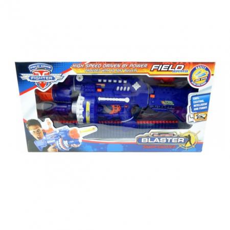 Pusca automata Blaster Sharp-Shooter, gloante cu ventuze din spuma, multicolor [1]