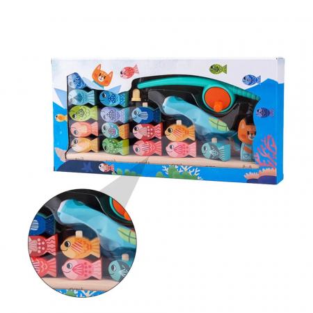 Joc educativ de Pescuit magnetic, Kitten Fishing, multicolor [2]
