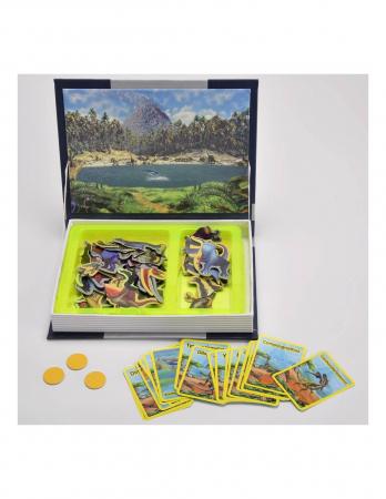 Carte mangetica Dinosaur Spell, Lumea Dinozaurilor, 57 piese [4]