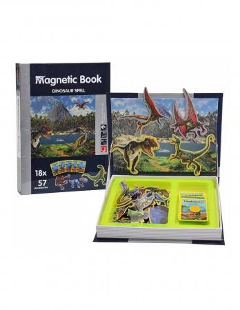 Carte mangetica Dinosaur Spell, Lumea Dinozaurilor, 57 piese [1]