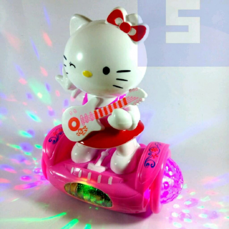 Hello Kitty pe hoverboard [0]
