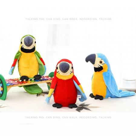 Jucarie de Plus Interactiva Papagal Vorbitor [0]