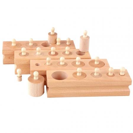 Set cilindrii din lemn [0]